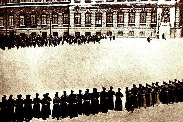 Расстрел рабочего шествия 9 января 1905 года