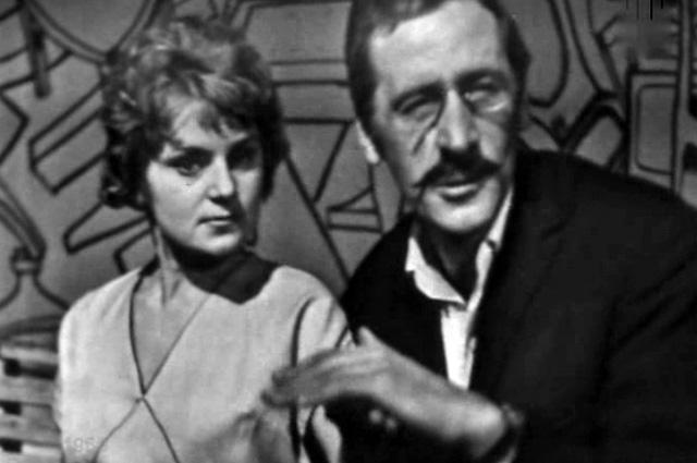Ирина Асмус в телеспектакле «12 стульев» в роли Лизы Калачевой, 1966 год