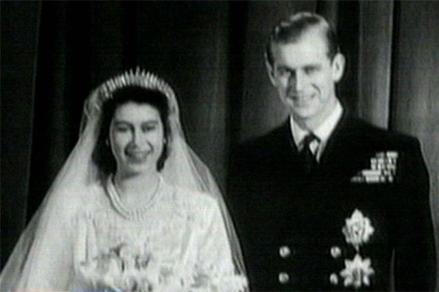 Свадьба Елизаветы II и Филиппа Эдинбургского