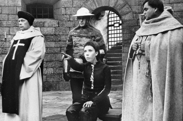 Эпизоды с Жанной д'Арк снимали в селе Спас-Седчино.