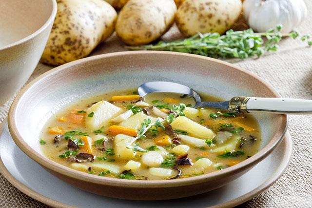 Суп - одно из самых простых, быстрых и вкусных блюд с грибами