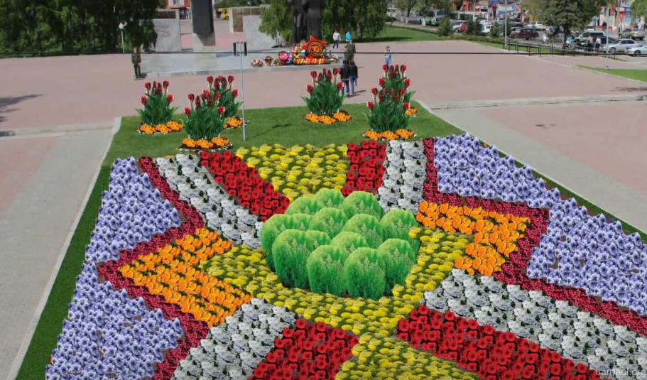 Дизайнеры разработали эскизы оформления городских клумб