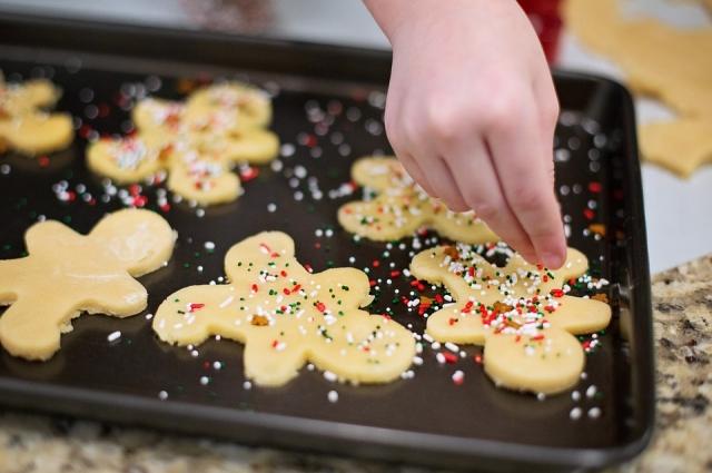 С тыквой имбирное печенье будет еще вкуснее.