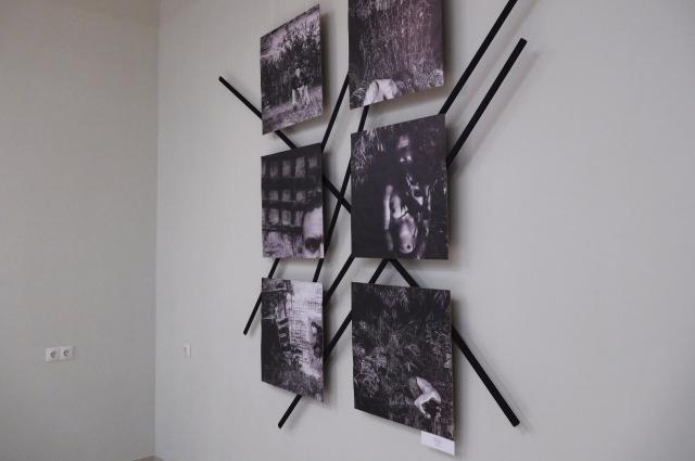 Фотостики на выставке.