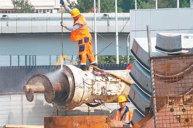 Строительство станции метро «Аминьевское шоссе» планируют завершить в2019году.