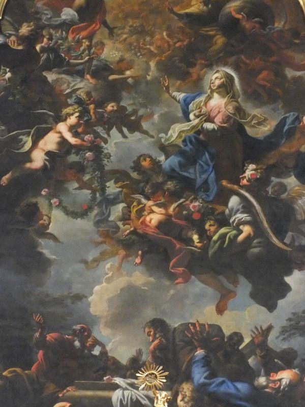 Петр Брандль. Вознесение Девы Марии.