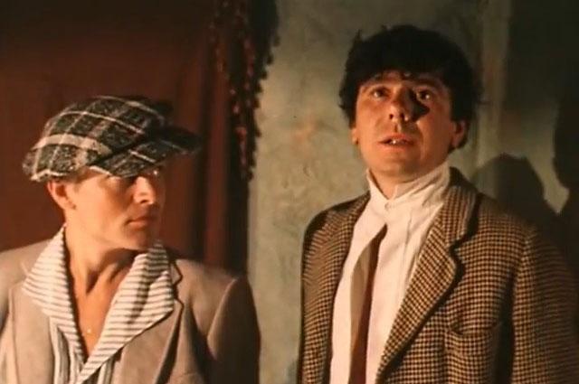Виктор Ильичев в роли Феди Быка, «Зелёный фургон», 1983 г.