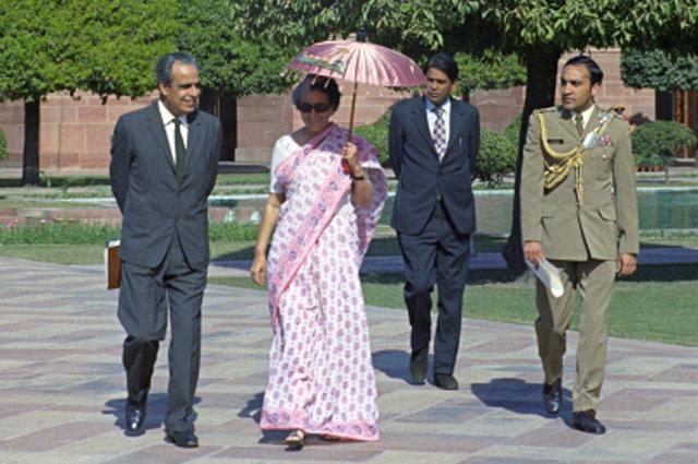 Индира Ганди. 1973 год
