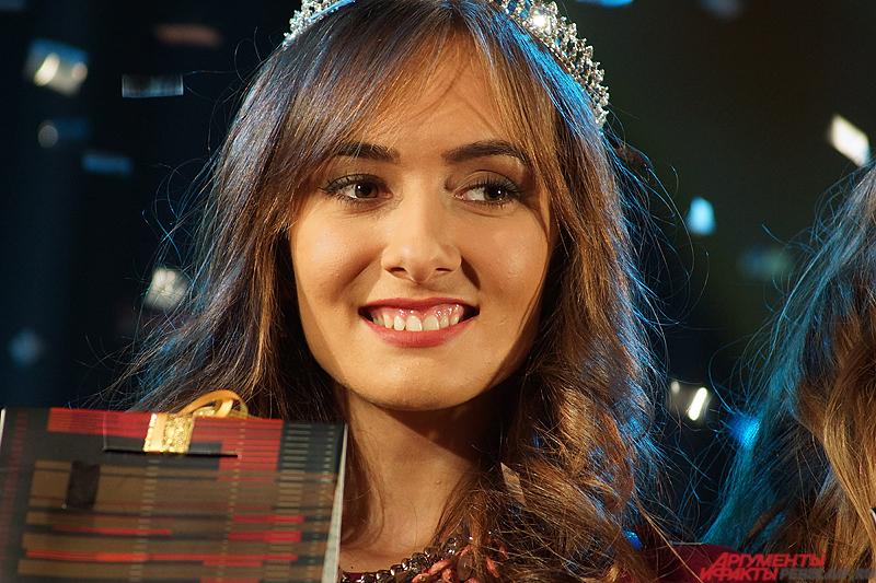 Победительницей конкурса «Мисс Студенчество – 2015» стала 19-летняя Александра Подбельская.
