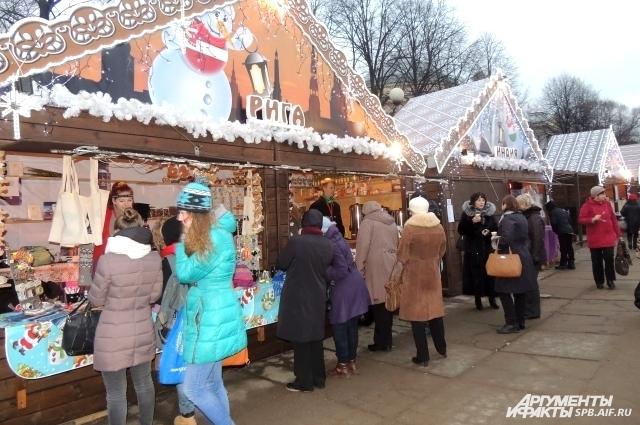 Ярмарка на Пионерской площади будет работать даже в новогоднюю ночь.