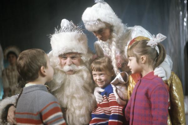 Новогодний праздник в Колонном зале Дома Союзов, 1973 год