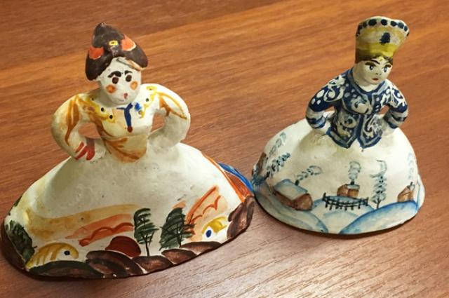 Подарок от учеников Детской художественной школы.