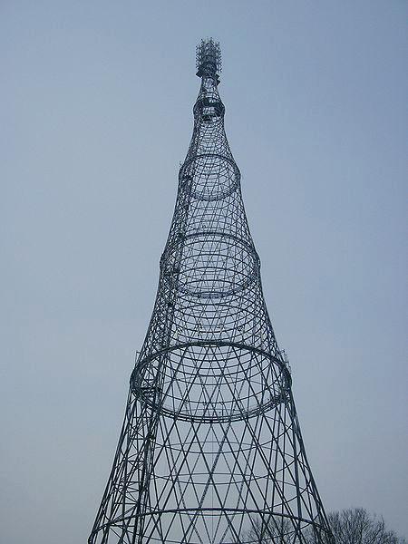 Эта башня вдохновила Алексея Толстого на фантастический роман Гиперболоид инженера Гарина