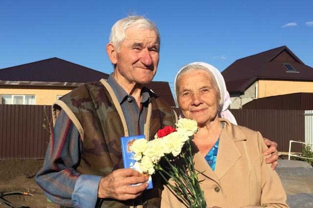 Колтаков Александр Константинович с женой.
