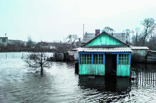 Утонувший дом и есть неожиданный доход?