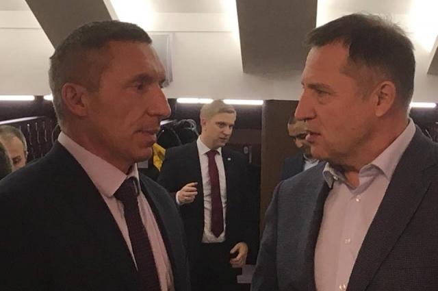 Дмитрий Головин и Вячеслав Вегнер на юбилее нашли общий язык