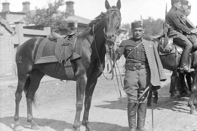 Легионер чехословацкого корпуса.