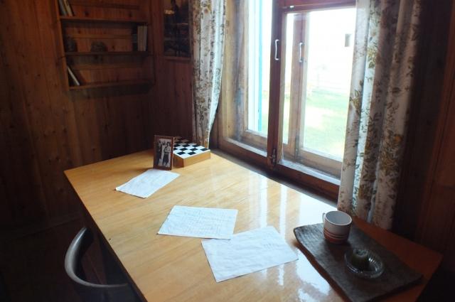 В рабочем кабинете Василия Фёдорова сохранилась прежняя обстановка.