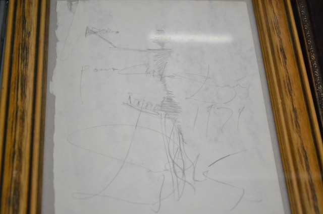 Рисунок для некоего Рональдо – директора ресторана