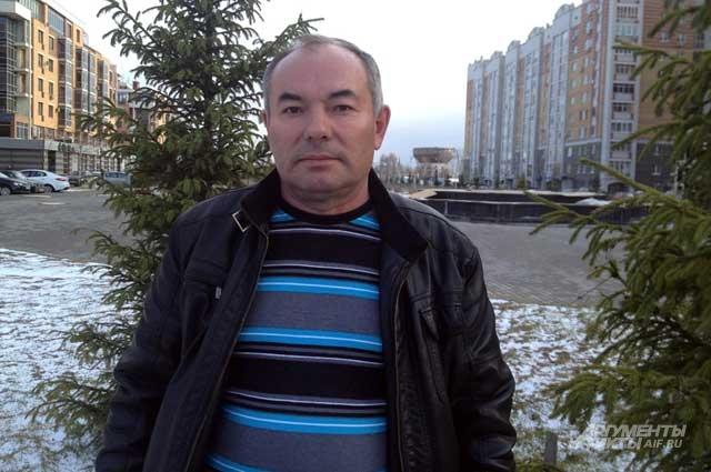 Ринат Низамов участвовал в ликвидации последствий аварии летом 1986 года
