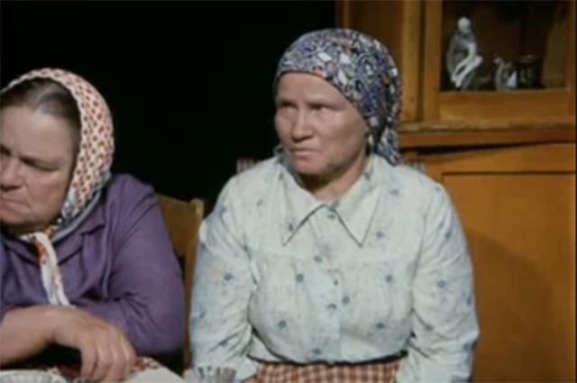 «Калина красная», 1973 год.