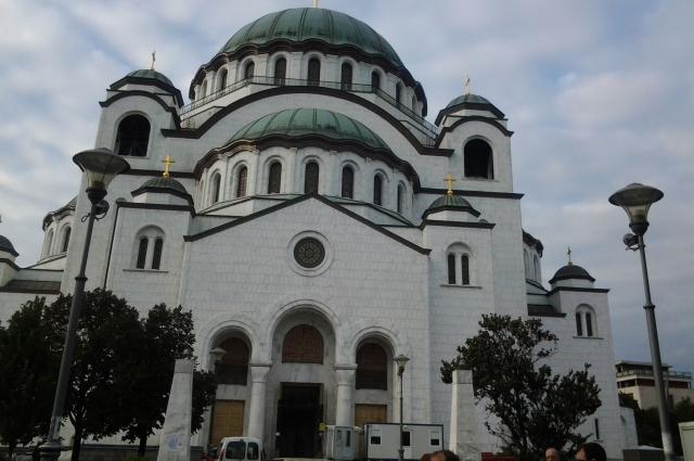 Храм построен по образу св.Софии.