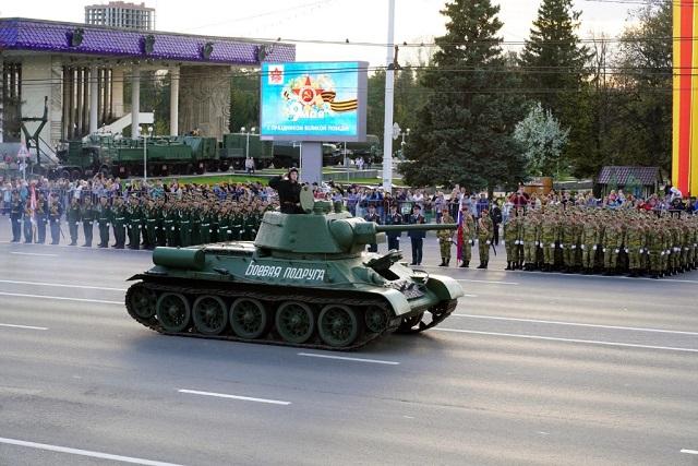 Парад Победы в Уфе