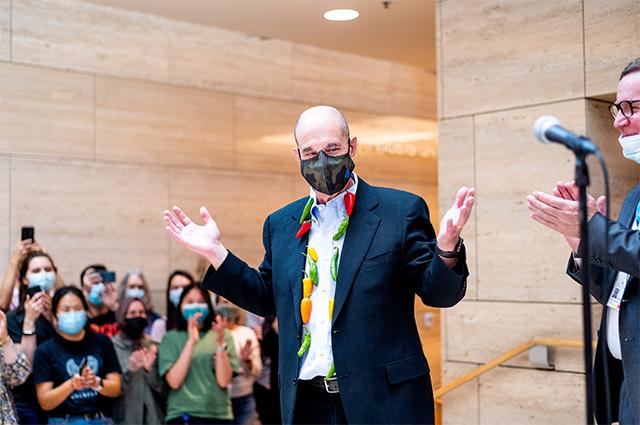 Профессор Калифорнийского университета в Сан-Франциско Дэвид Джулиус.