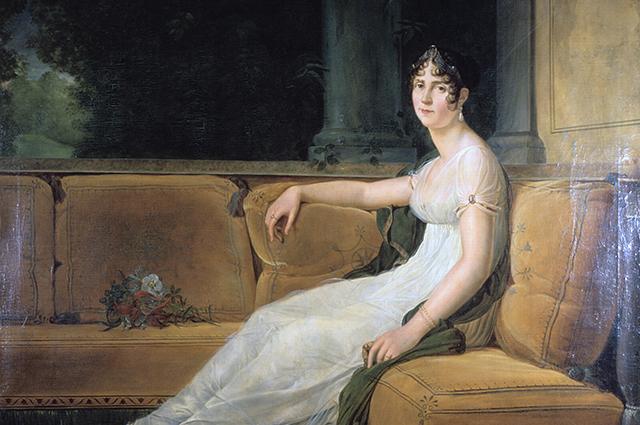 Портрет кисти Жерара (1801), вместе с коллекцией Жозефины попавший в Эрмитаж