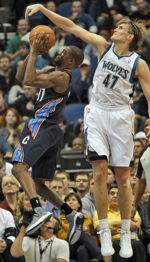Андрей Кириленко в матче НБА