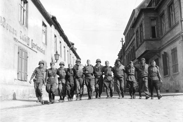 Союзники близ Торгау