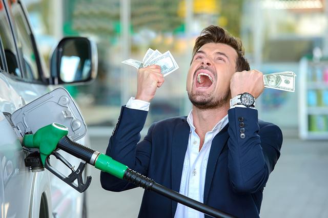 Бензин, деньги,