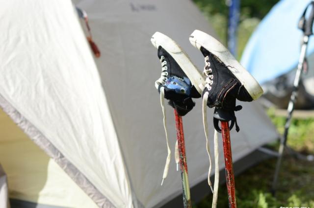 Что может быть лучше палаточного отдыха вдали от дома.
