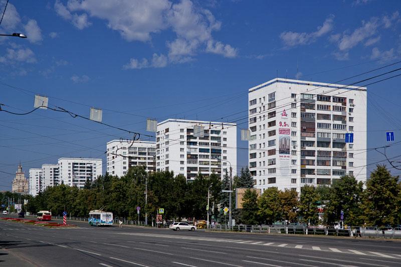 Башни Вулыха в Челябинске.