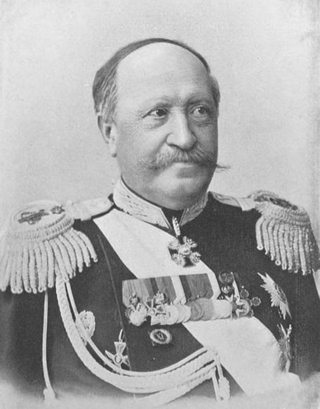 Генерал-адъютант Н.П. Игнатьев. Пекин, 1900 г.