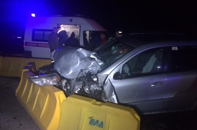 Водитель и пассажиры внедорожника не пострадали.