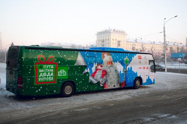 Дед Мороз поможет детям в Перми.