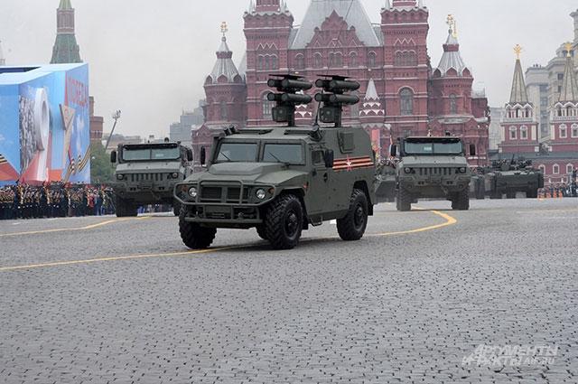 Бронеавтомобиль «Тигр-М» в модификации СПТРК «Корнет-Д».