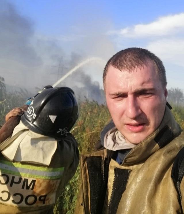пожар, добровольные пожарные