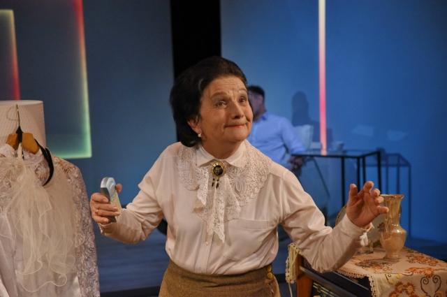 В День матери 29 ноября Наиля Гараева сыграет в спектакле «Здравствуй, мама, это я».