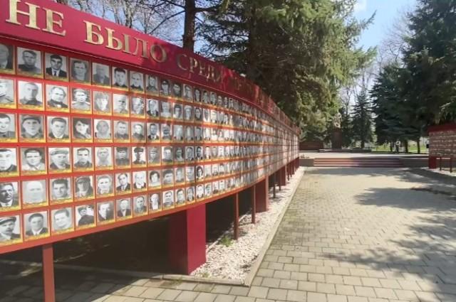 Эители округа свято чтут память героев Великой Отечественной войны.