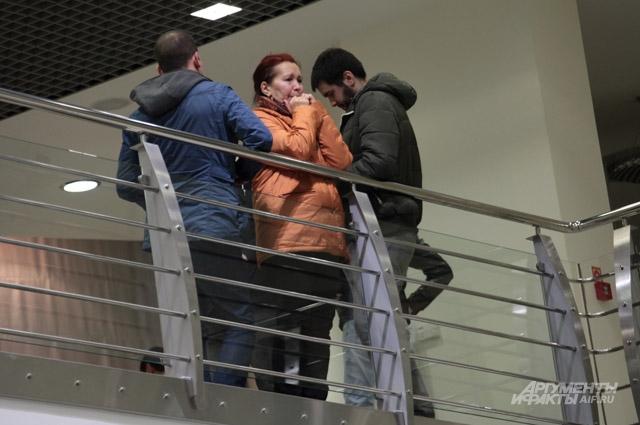Близкие погибших в авиакатастрофе в Казани