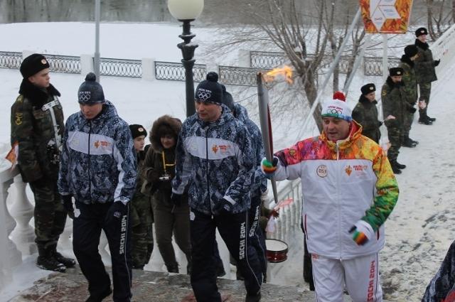 Олимпийский огонь: 42 километра по Оренбургу
