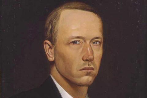 Константин Васильев, автопортрет.