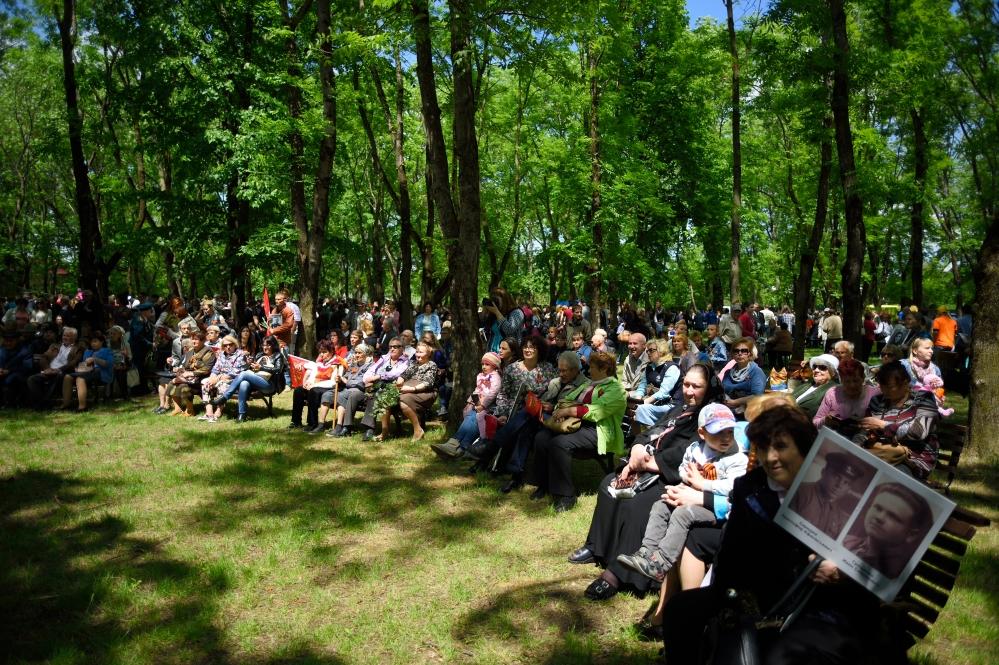 День победы в Майкопе, 9 мая в Майкопе, ветераны