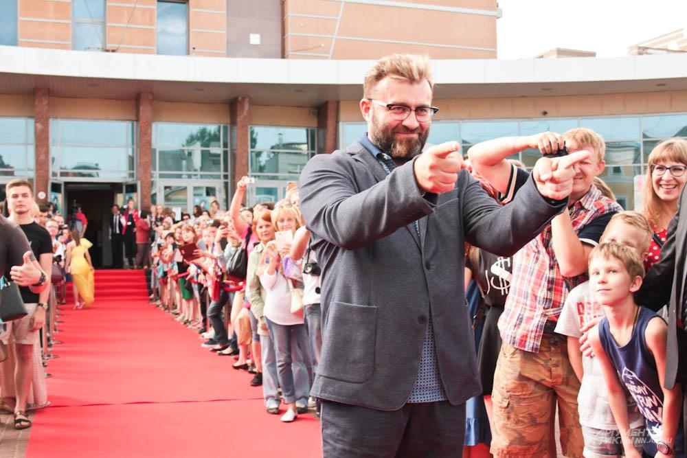 Президент новорожденного кинофестиваля Михаил Пореченков.