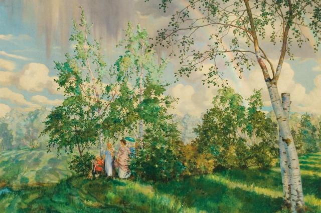 Константин Сомов, «Радуга»