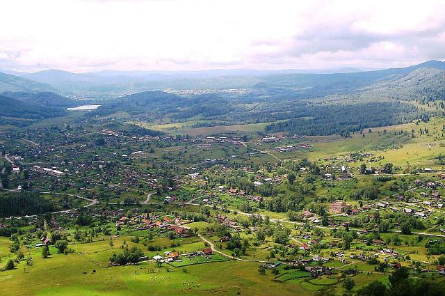 Вид на город Артемовск.