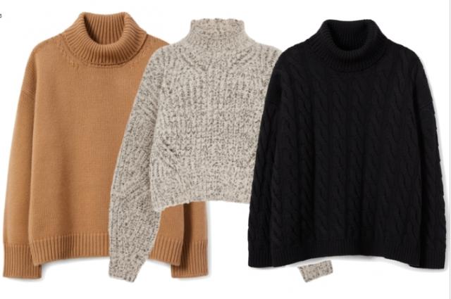 Повседневные свитера.