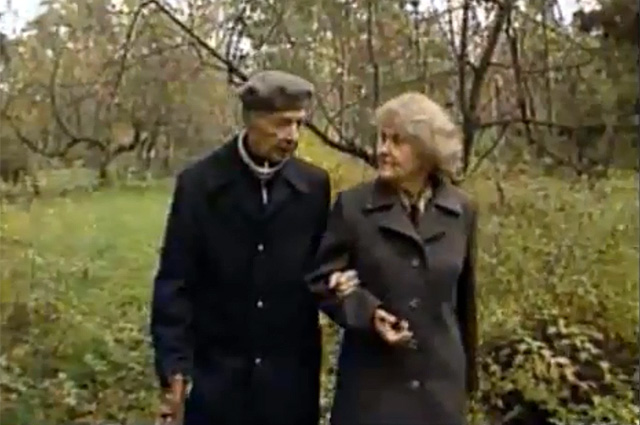 Моррис и Леонтина Коэн. 1992 г.